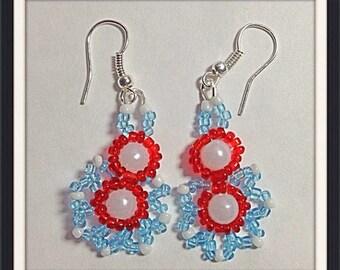 MWL 4th of July earrings