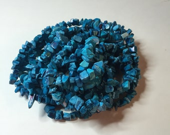 TURQUOISE BEAD Chips