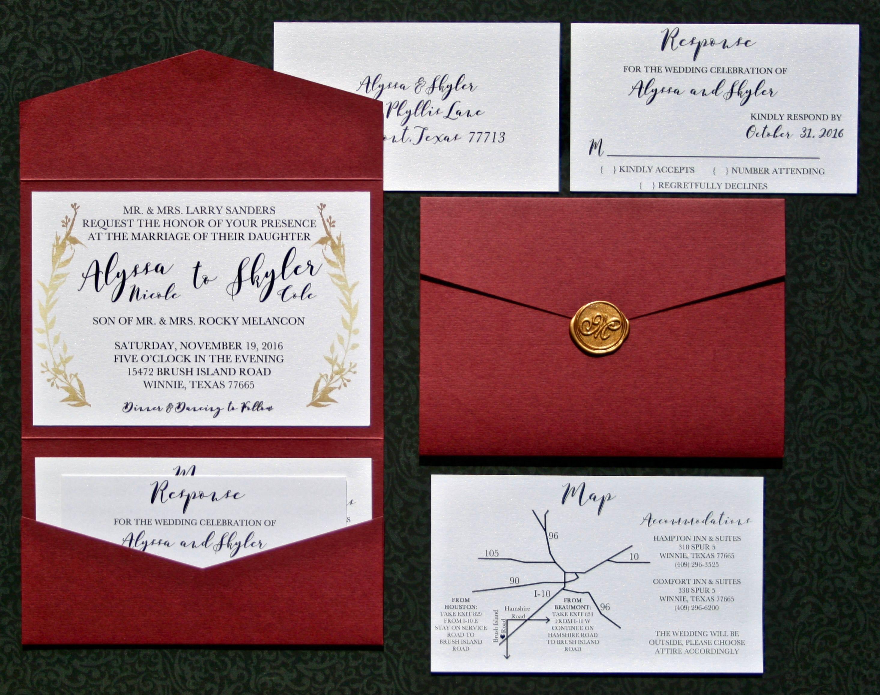 Perfect Seal And Send Wedding Invitations Cheap Ensign - Invitations ...
