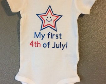 My first 4th of July Onsie!