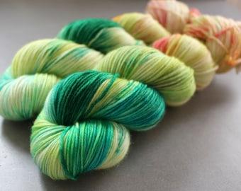 """Doe - """"Terrarium"""" - Superwash Merino, Cashmere, Nylon - Sock Yarn"""