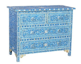 Mother of pearl four drawer chest # dresser