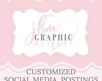 Customized Social Media Postings (4)