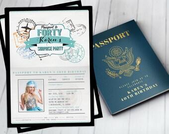 Passport invitation etsy filmwisefo
