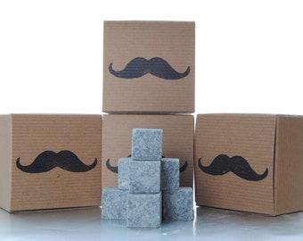Groomsmen Gift - 10 pc Whiskey Stones Gift Set by PolarStones -  Gift for groomsmen - best man gift - groomsmen gift  whiskey rocks