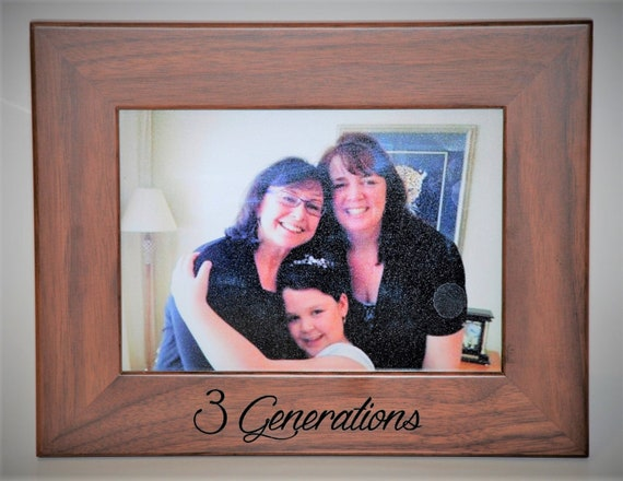 5x7 Walnut Wooden Picture Frame custom engraved just for you. Custom ...