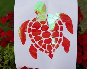 Sea Turtle decal Sticker | Turtle Decal | Car Window Sticker | Spirit Animal | Animal Totem | Yeti sticker
