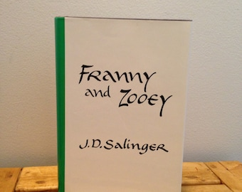 Franny and Zooey by J.D. Salinger - Vintage Hardcover Book