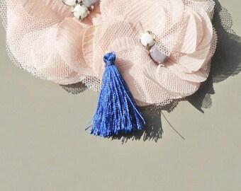 tassels polyester tassel, tassel color blue, ultramarine blue tassel