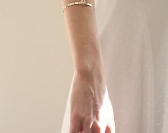 Wedding Bracelet, Arm Cuff Bracelet, Arm  Bracelet, Boho  Cuff Bracelet,  silver Arm Bracelet, Bridal Bracelet, Body Jewelry, Prom Bracelet