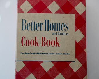 40s vintage book-Better Homes and Garden New Cook Book