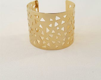 Bangle, party bangle, unique bangle, bangle wedding bracelet, events bangle, fashion bangle, gold bangle, lace