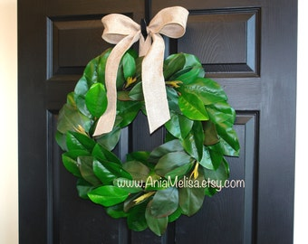 spring wreaths for front door wreaths Wedding wreath outdoor wreaths magnolia wreath front decorations wedding front door wreaths