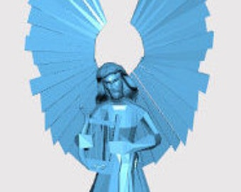 3D print of an Angel