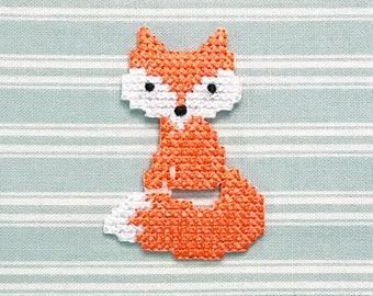 Patch PRYM Fox cross stitch