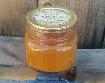Peach Preserves -Half Pint