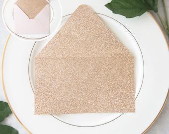 DIY Invitations - Envelope Liners - Glitter Envelopes - DIY Envelope Liner - Invitation Supplies - Envelope Liner - Glitter Liner - Lot/50