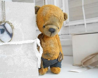 """Sewing kit for 8,5 Inch bear """"Titouan"""" Incl. ready Made Pants"""