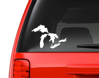 Michigan Great Lakes decal