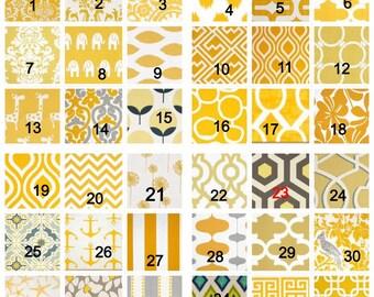 Chevron valance, lined window valance decorative valance, window curtain, scallop style, lined yellow valance