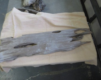 super large weathered driftwood for shelf, small mantle, wall hanging, naturally weathered and totally unique