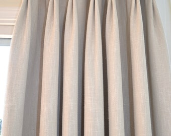 Pinch Pleat Top For Custom Made Curtains