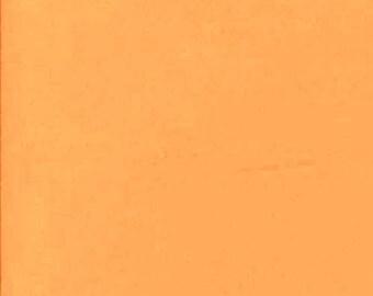 Tissu coton uni  Orangé-abricot