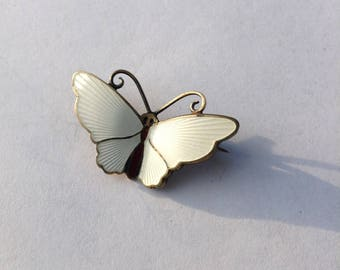 Pin Brooch David Andersen Norway Enamel Sterling Statement Collectible