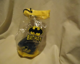 Vintage 1964 Batman Locker Bag With Plastic Blue Cup, collectable, toy