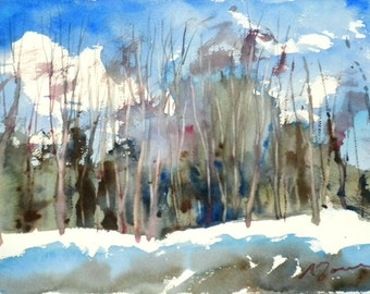 New England Winter-Scape No.39, limited edition of 50 fine art giclee prints