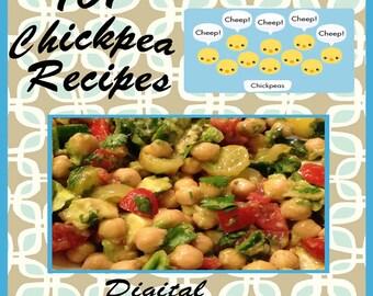 101 Chickpea Recipes E-Book Cookbook Digital Download