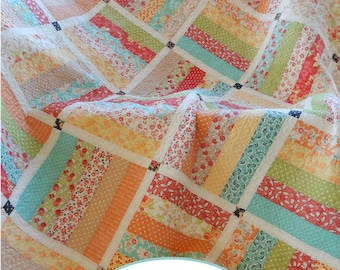 Dreamin' Jelly Roll Quilt Pattern  (paper version)