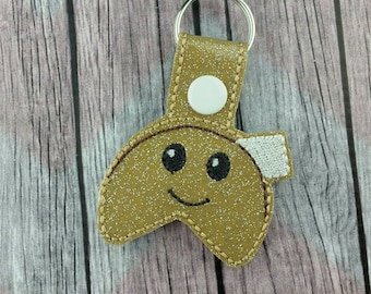 Fortune Cookie Snap Tabs for Sports Bags and Luggage, Key Chains, Zipper Pulls