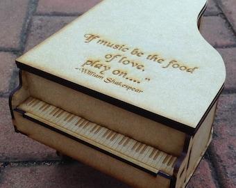 Grand Piano Jewelry Box