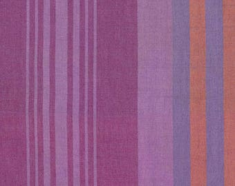 Headlines in grape from the Loominous fabric collection by Anna Maria Horner for Free Spirit fabrics