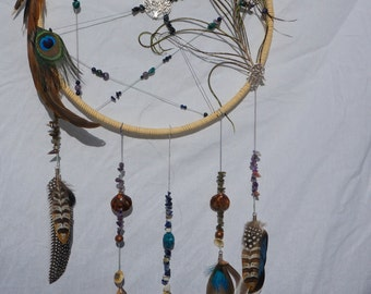 Large Abstract Tree of Life Dream Catcher