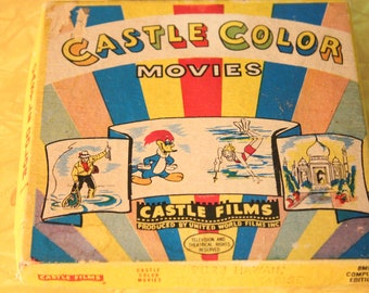 """Vintage 8MM Castle Color Film by Castle Films, """"HAWAII! State of Paridise"""" #9023 Home Movie, Vintage Cartoon Movie, Home Theater"""