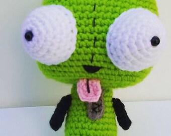 Crochet Invader Zim Amigurumi