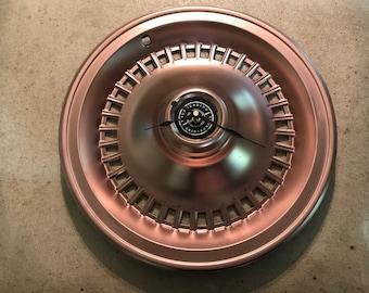 Thunderbird Hubcap Clock.