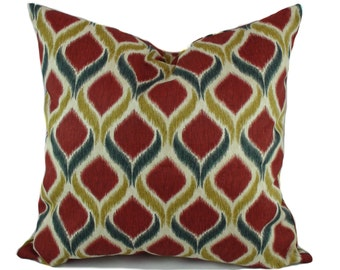 Red pillows, Blue pillow cover, Decorative pillows for sofa, Couch cushions, Toss pillow, Throw pillow cover, Sofa cushion, 16x16, 18x18