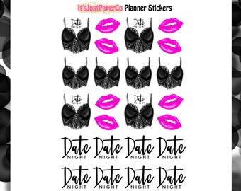Date Night (Planner Stickers)