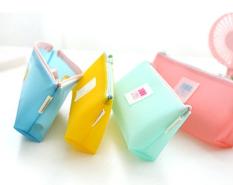 Candy Color Pencil Case -Pencil Pouch Receive Pouch