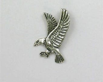 Sterling Silver Flying Eagle Charm