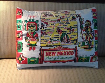 New Mexico Pillow Cover up cycled