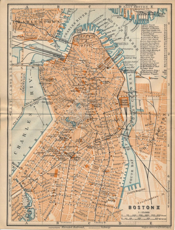 1904 Boston Massachusetts Downtown South Boston