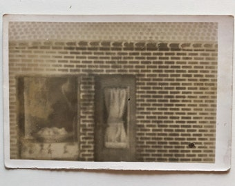 Original Vintage Photograph | Brick & Mortar