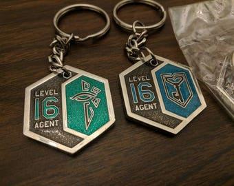Level 16 Keychain