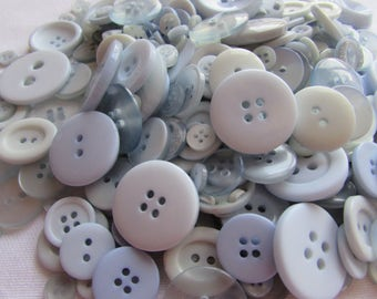 Baby Blue Button Assortment