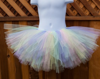 Pastel Tutu/Easter Tutu/Unicorn Tutu - Other Colors Available
