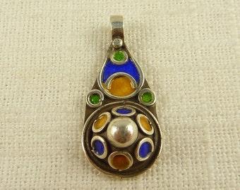 Vintage Moroccan Sterling Berber Pendant
